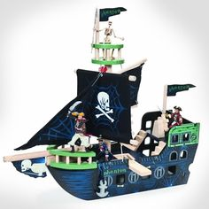 Le Toy Van Ghost Ship by Hotaling