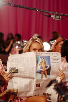 Candice at Victoria's Secret Fashion Show 2015