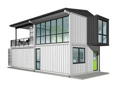 Foxworth Architecture - Single Family Container House - Louisville, Kentucky