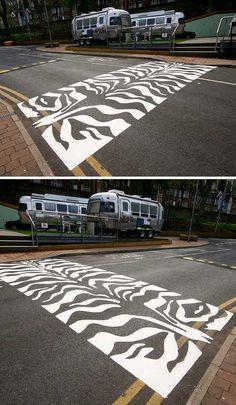 Ten More Creative Crosswalks