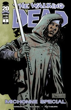 The Walking Dead : Michonne Special #1/1. Cover by Charlie Adlard.