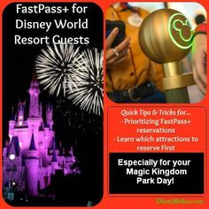 Fast pass tips