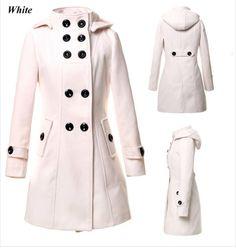 Aliexpress com buy women wool coat holiday winter warm jacket