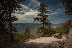 Jeepando en la sierra