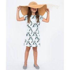 Skylight Puffin Dress