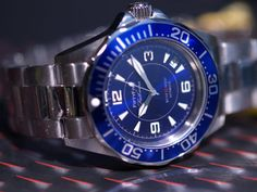 Invicta Fifty Five Fathoms Mod Omega Watch, Watches, Accessories, Clocks, Wrist Watches, Wristwatches, Tag Watches, Watch
