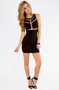 GUESS Women's Monaco Mesh-Insert Sleeveless Body-Con Dress ...