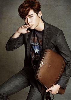 Lee Jong Suk - High Cut Magazine Vol.117