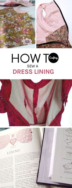 A dress lining can be an important contributor to the fit, comfort, and overall look of your dress. Learn how to sew a dress lining with our free tutorial.