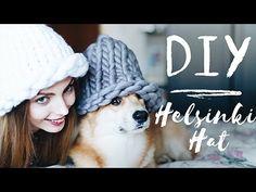 DIY | Шапка из толстой пряжи | Helsinki hat - YouTube