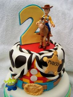 Toy Story Birthday Cake by SugarBabyCakes