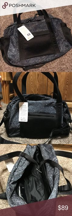 c7946d546a NWT lululemon duffel bag NWT lululemon Everywhere duffle. Super pretty  pattern!! lululemon athletica
