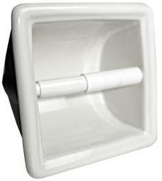 Recessed Toilet Paper Holders In 100 Ceramic Colors Bathroom