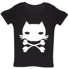I seriously want this. Dead Kitty Graphic Tee ($13)