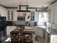 Silver Cloud Granite-our kitchen remodel.