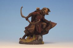 Male Ranger from Dark Sword Miniatures, sculpted by Jeff Grace.