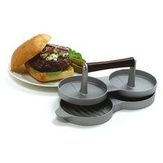 DOUBLE BURGER PRESS http://www.coast2coastkitchen.com/store/cooking/cookware-/double-burger-press