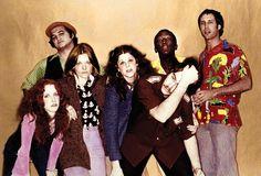 Original SNL Cast Of The 70's--Lorraine Newman, John Belushi, Jane Curtin, Gilda Radner, Dan Akroyd, Garret Morris and Chevy Chase.