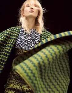 Maja Salamon by Dusan Reljin for Harper's Bazaar Japan October 2015