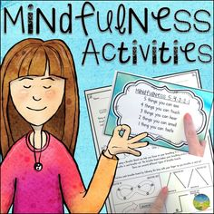 Mindfulness activities you can try today with kids and teens! Techniques include coloring, breathing exercises, meditation, positive affirmation quotes, and more. Guided Mindfulness Meditation, What Is Mindfulness, Mindfulness For Kids, Mindfulness Activities, Mindfulness Training, Teaching Mindfulness, Calming Activities, Mindfulness Benefits, Meditation Symbols