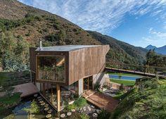 «Casa el maqui», une splendide maison écologique