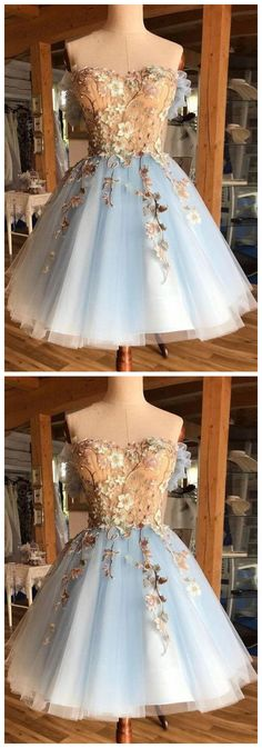 Tulle lace short prom dress, blue homecoming dress - Source by dresses for teens short Quince Dresses, Ball Dresses, Ball Gowns, Best Formal Dresses, Dresses For Teens, Summer Dresses, Fancy Dress For Teens, Winter Dresses, Pretty Dresses