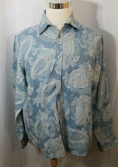 Murano Baird McNutt Linen Men/'s Short Sleeve Button Front Shirt S M L XL NEW $79