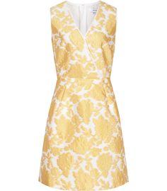 Womens Daffodil Jacquard Dress - Reiss Tate