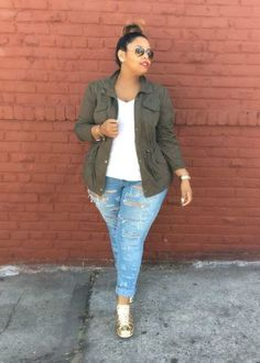 Curvy Girl Fashion Outfits, Plus sized clothing, fashion tips, plus size fall wardrobe and refashion. Fall and Autmn Fashion Outfits Trends for Plus Size. Plus Size Teen, Look Plus Size, Plus Size Casual, Plus Size Style, Curvy Outfits, Casual Summer Outfits, Mode Outfits, Fashion Outfits, Fashion Ideas