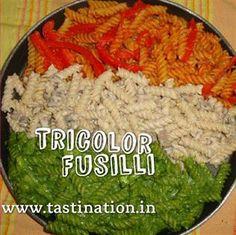 Tricolor Fusilli