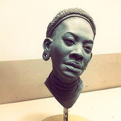 Afican woman by Cleytonoliveira