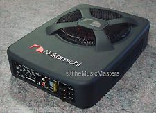 """Nakamichi NBF80A 8"""" Subwoofer + 800W Amplifier Car Audio Stereo Power Amp + Sub"""