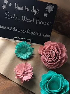Crafting with sola wood flowers, diy sola flower wedding bouquets, home decor with sola wood flowers.