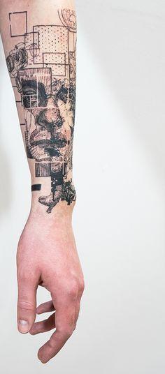 Mowgli — Through My Third Eye Line Work Tattoo, Line Tattoos, Body Art Tattoos, Tattoos For Guys, Ear Tattoos, Tatoos, Sketch Tattoo Design, Tattoo Sleeve Designs, Sleeve Tattoos