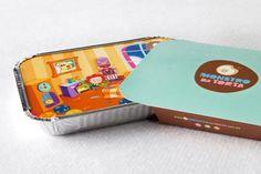 No me toques las Helvéticas | Blog sobre diseño gráfico y comunicación: Embalaje de comida para ropa de niños