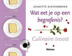 Kookboek: wat eet je op een begrafenis. Nooit bij stilgestaan. Cookbook for what to eat at a funeral.