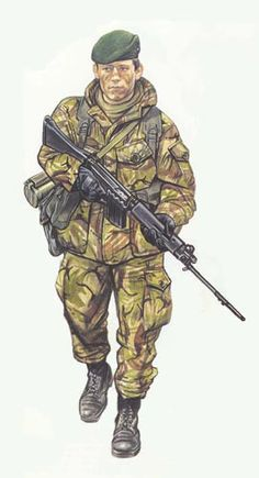 Marine 40 Comando,Islas Malvinas 1982