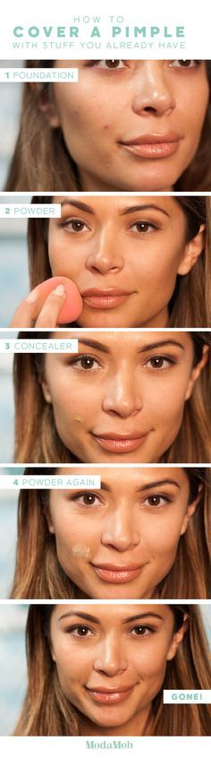 How to Cover a Pimple with Stuff You Already Have http://www.modamob.com/beauty-news/how-cover-pimple-stuff-you-already-have.html