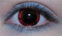 Werewolf Eyes Contact Lenses | Type Of Red Contacts