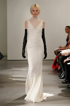 Vera Wang Bridal--- THE BEST LOOKS FROM BRIDAL FASHION WEEK: SPRING 2014  Great gowns for a wedding
