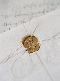 Grant Wedding Sept 2015 Invitation Seal