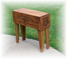 Hey, I found this really awesome Etsy listing at http://www.etsy.com/listing/159537879/shipping-crate-table-american-cynamid-co