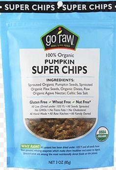 Go Raw Organic Pumpkin Super Chips