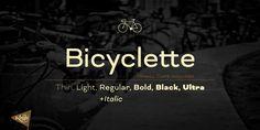 Bicyclette - Webfont & Desktop font « MyFonts