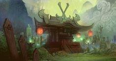 ArtStation - Oriental concept art #2, yasu _