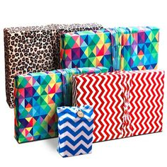 REUSABLE GIFT WRAPPING IDEAS and GIFT CARD HOLDER CELEBRATION BUNDLE #GiftIdeas  #AnyOccasion