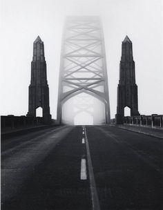 undr:  David Plowden Yaquina Bay Bridge in Oregon, 1968.