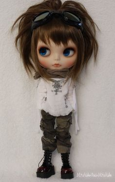 Tori Blythe  - this has to be the cutest ever!  Love the camo pants!