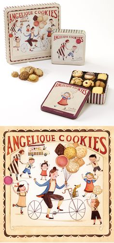 Cookie Box for Paris Baguette
