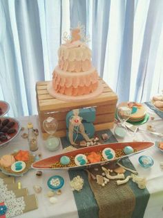 Under the Sea Mermaid Birthday Party!  See more party ideas at CatchMyParty.com!
